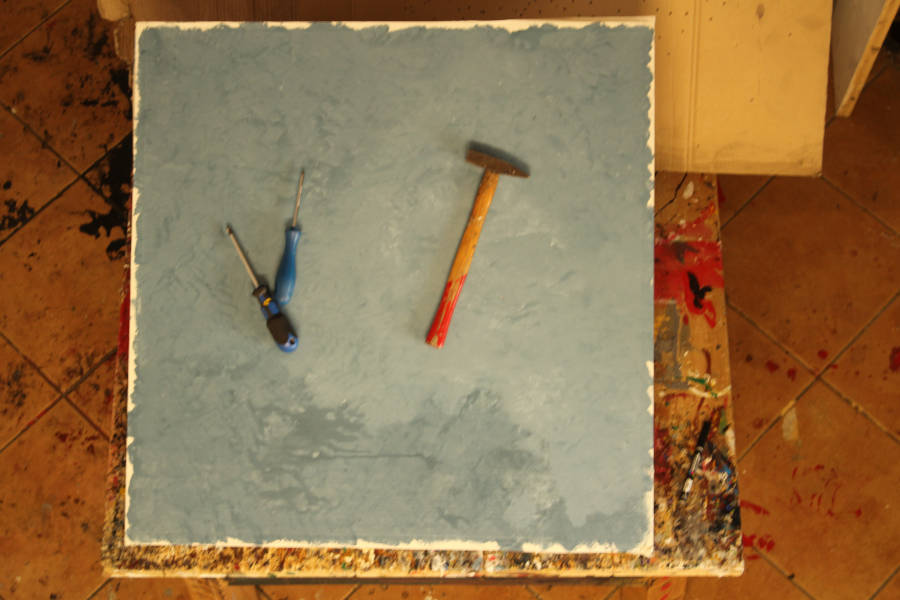 Working blue