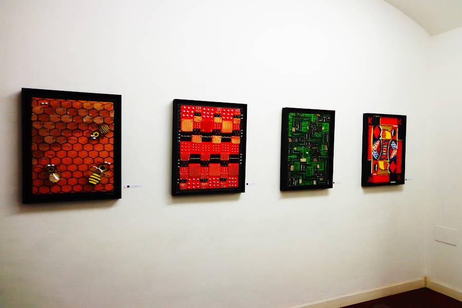 """Durante la mostra """"Due"""", 2013"""